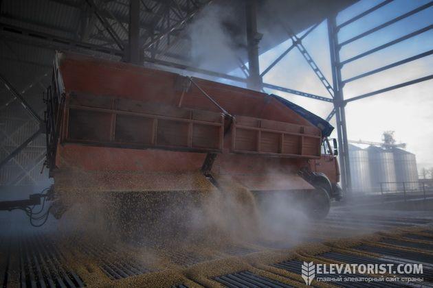 Прием зерна элеватором тип конвейеры ленточные