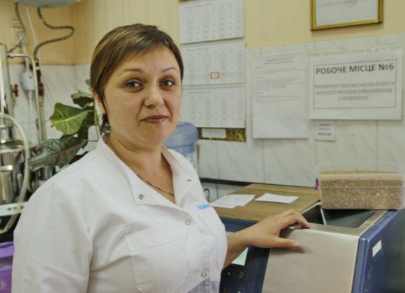 Наталья Бух, лаборант