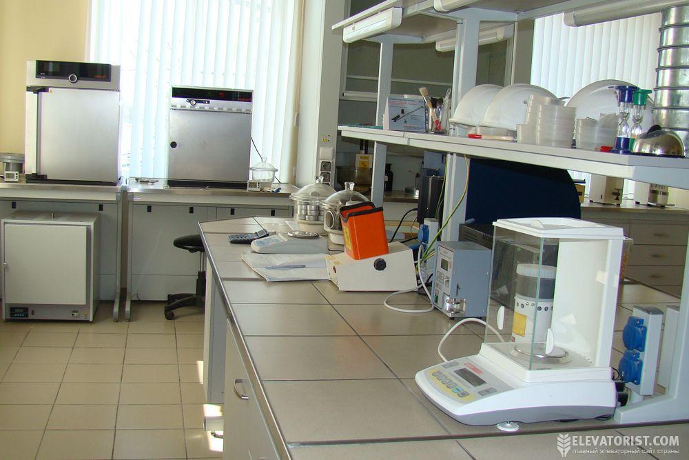 Лаборатория при элеваторе ермолаево элеватор