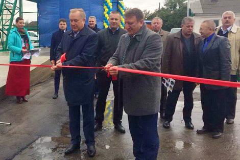 РОСТОК-ХОЛДИНГ торжественно открыл Новгород-Северский элеватор