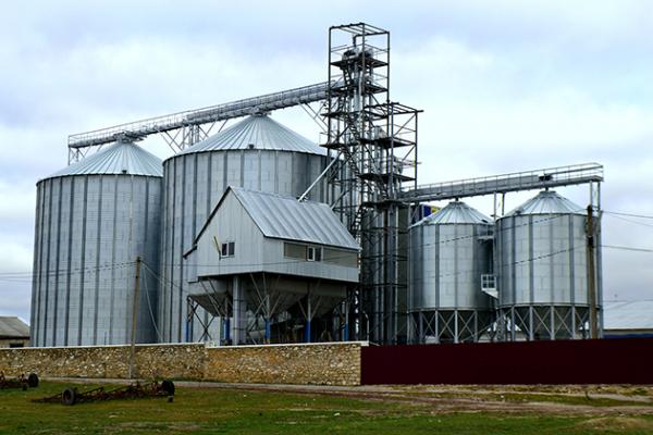 элеватор строить зерно