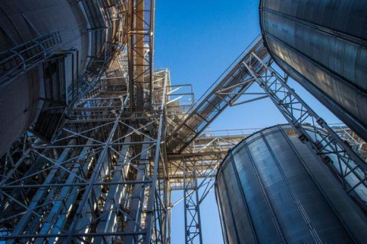 Сколько тонн зерна в элеваторе купить бу битый транспортер