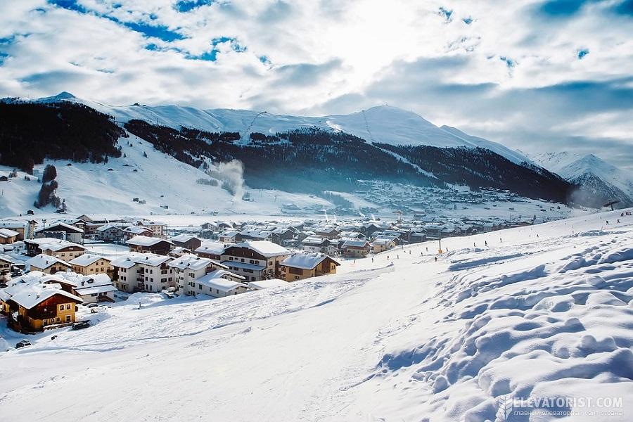 Протяженность всех трасс горнолыжного курорта в Доломитах — 1200 км