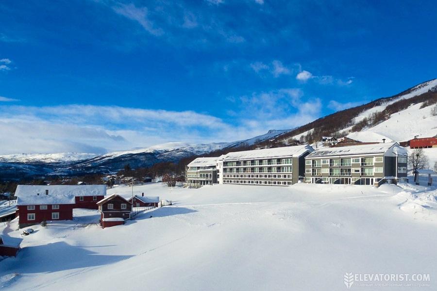 Популярный горнолыжный курорт Гейло