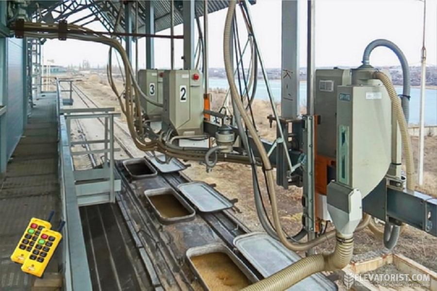 Пробоотборники зерна на элеваторе лифты эскалаторы и пассажирские конвейеры