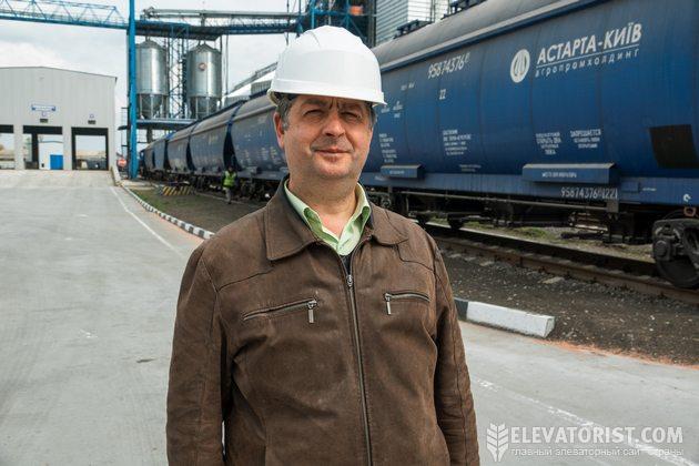 Игорь Проценко, начальник эксплуатационно-технологического отдела департамента элеваторного бизнеса компании «Астарта-Киев»