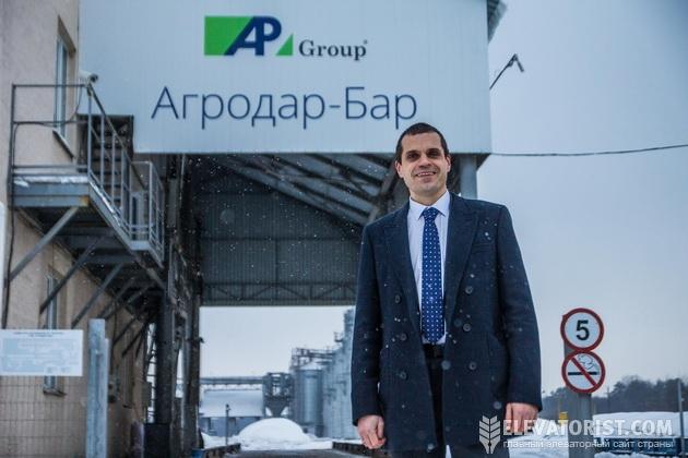 Генеральный директор элеватора «Агродар-Бар» Роман Андрейкив