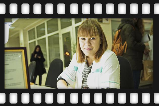 Сотрудница лаборатории
