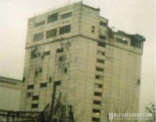 Элеватор в Чечне.