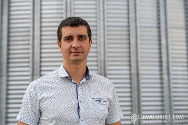 Руководитель проекта припортового элеватора Дмитрий Николаев