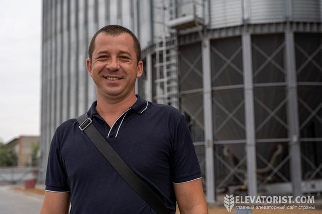 Начальник весотехнического отдела Элеваторпромсервис Александр Гришнюк