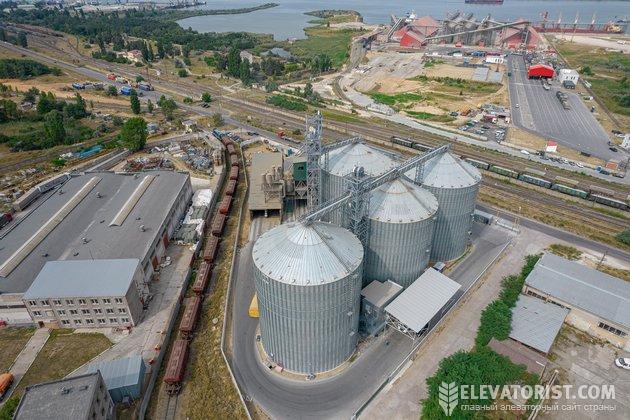 На терминале планируют перевалить 10 оборотов зерна за сезон