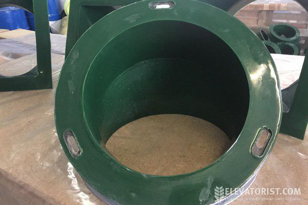 Полиуретан надежно защищает металл от истирания