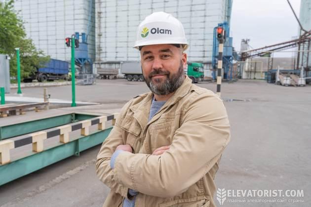 Коммерческий директор «ОЛАМ Белоцерковского элеватора» Кирилл Бондаренко
