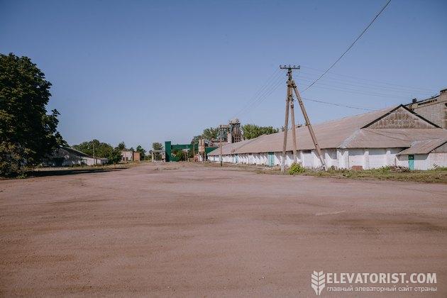 Напольные склады могут хранить 40 тыс. т зерна.