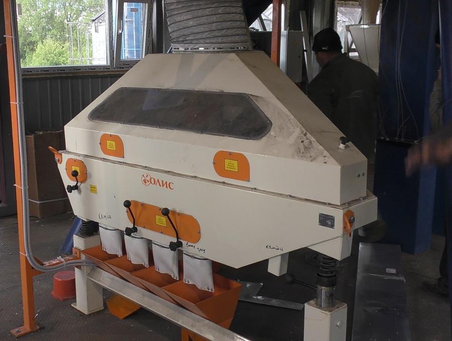 Пневмосортировочный стол «СПС-3.5» компании «ОЛИС»