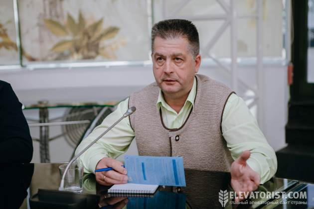 Начальник эксплуатационно-технологического отдела департамента элеваторного бизнеса «Астарта-Киев» Игорь Проценко