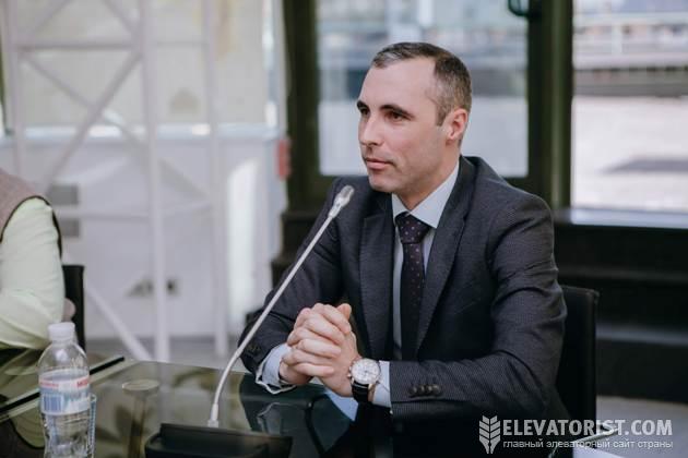 Директор «Белозаводского элеватора» Сергей Щербань
