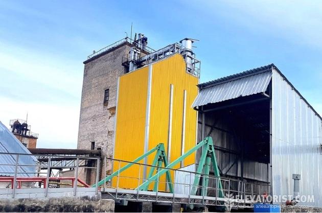 Зерносушилка BRICE-BAKER SCN-12/48 от KMZ Industries на элеваторе «Ингулец» G.R. Agro