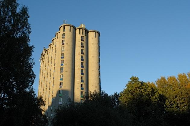 Элеватор-общежитие. Автор фото: Нина Фролова