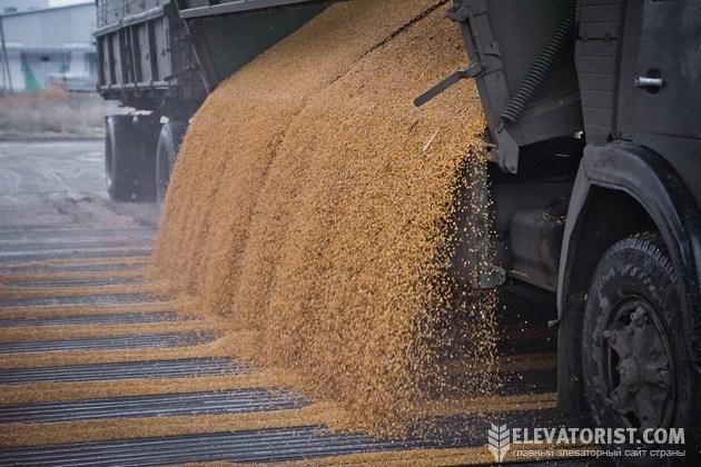 Прием зерна