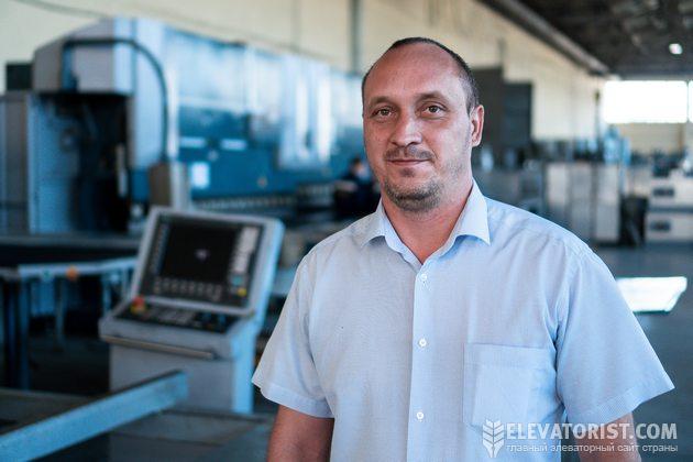 Дмитрий Заставленко, главный инженер