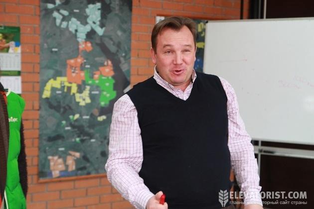Евгений Дудка, директор Волынь-зерно-продукт