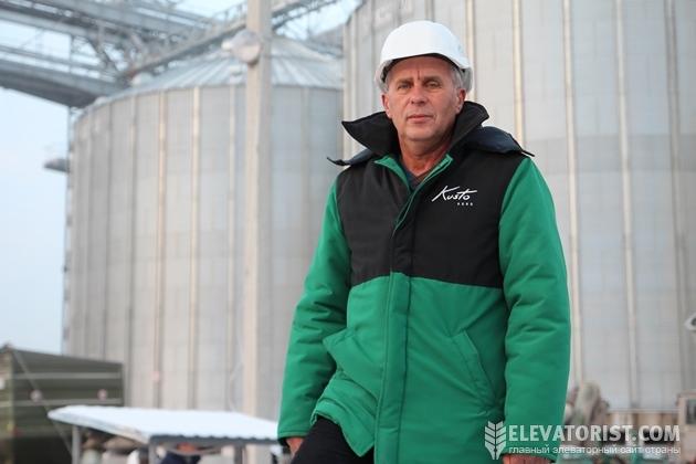 """Василий Крет, директор Жмеринского элеватора """"Кусто Агро"""""""