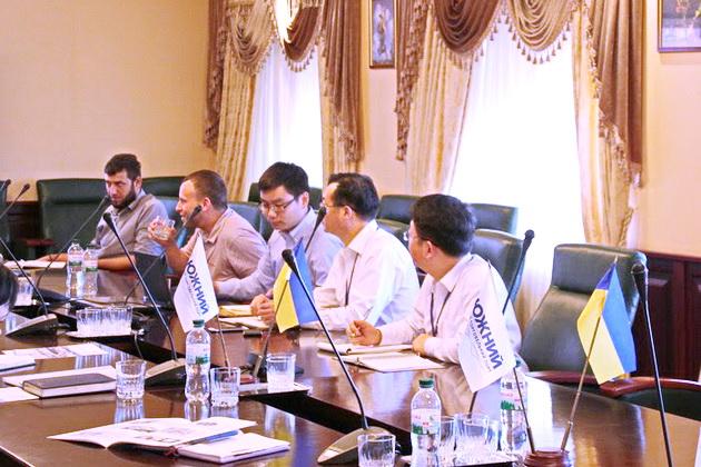 Встреча с представителями Южного МТП