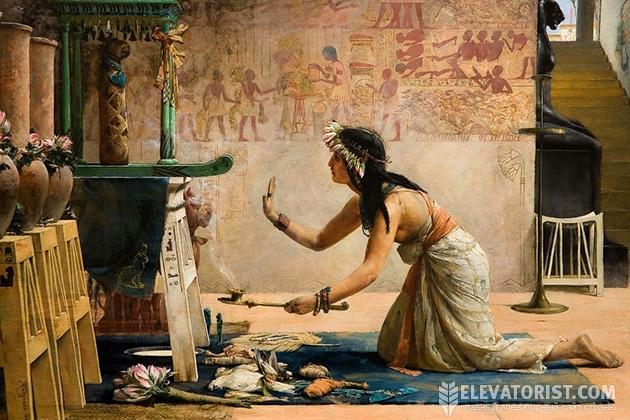 Кошек в Египте даже боготворили