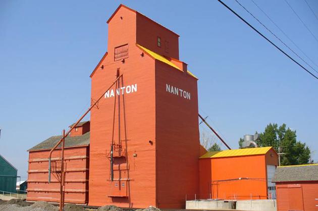 достопримечательность города Нантон