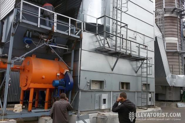 Зерносушилка на альтернативном топливе
