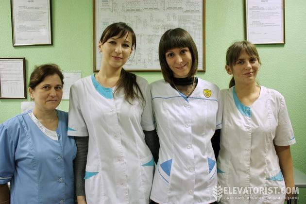 Сотрудницы лаборатории