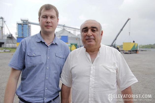 Олег Черипко и Альберт Торосян