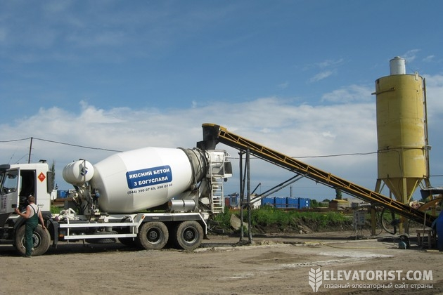Мини-завод по производсву бетона