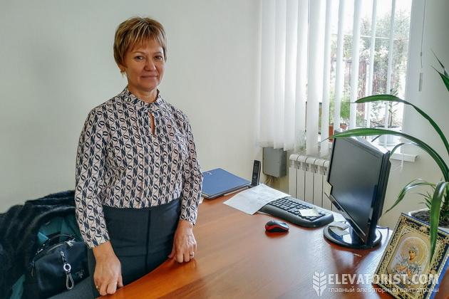 """Директор """"Варваровского элеватора"""" Тамара Бондарчук"""