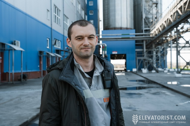Начальник маслопрессового цеха Владимир Кучер