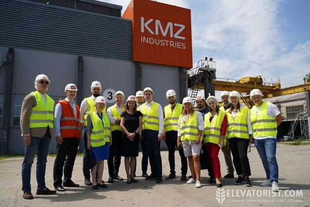 На заводе KMZ Industries