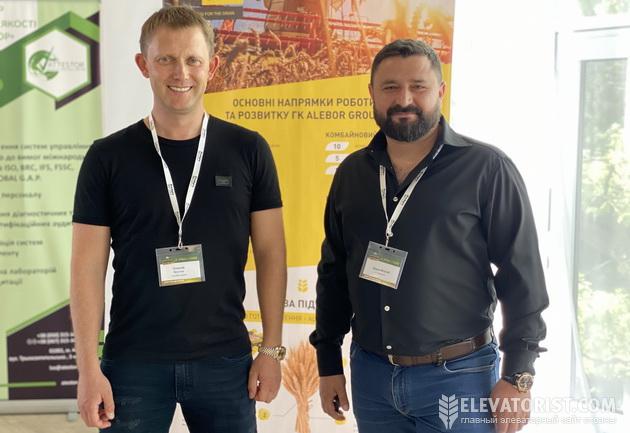 Представители компании Alebor Group Алексаей Кустов (слева) и Виталий Димов (справа)