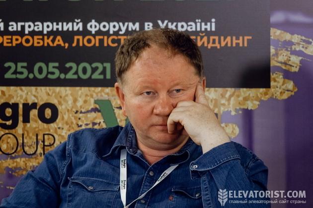 Директор компании «Зернотранс» Олег Логутов