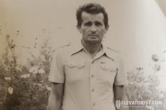 Виталий Шкурупий в молодости
