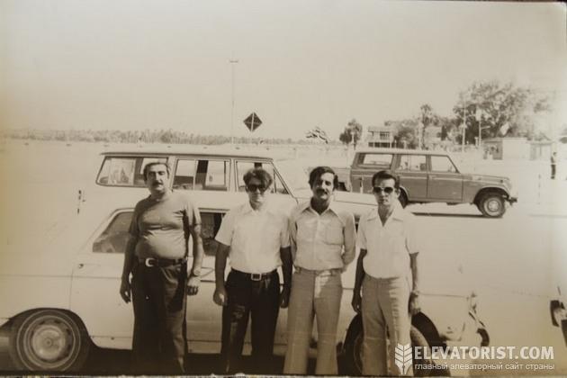 Советские специалисты в Ираке