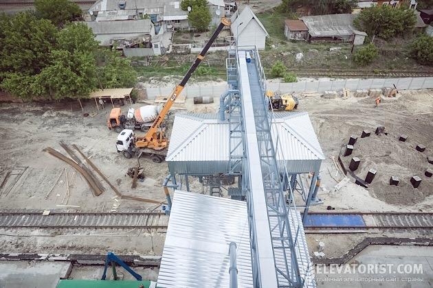 Строительство второй очереди.