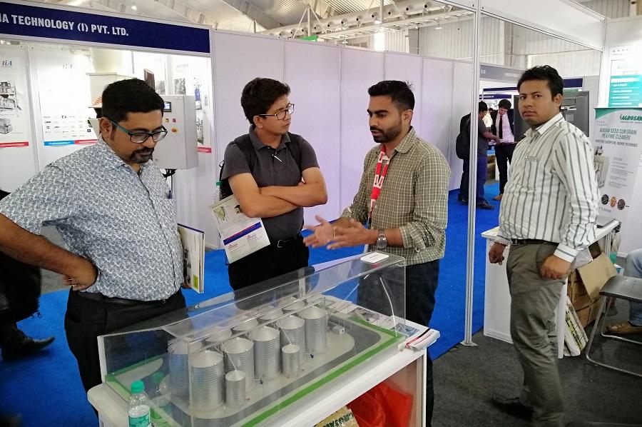 «ЛУБНЫМАШ» на одной из крупнейших выставок в Индии AgriTech 2019