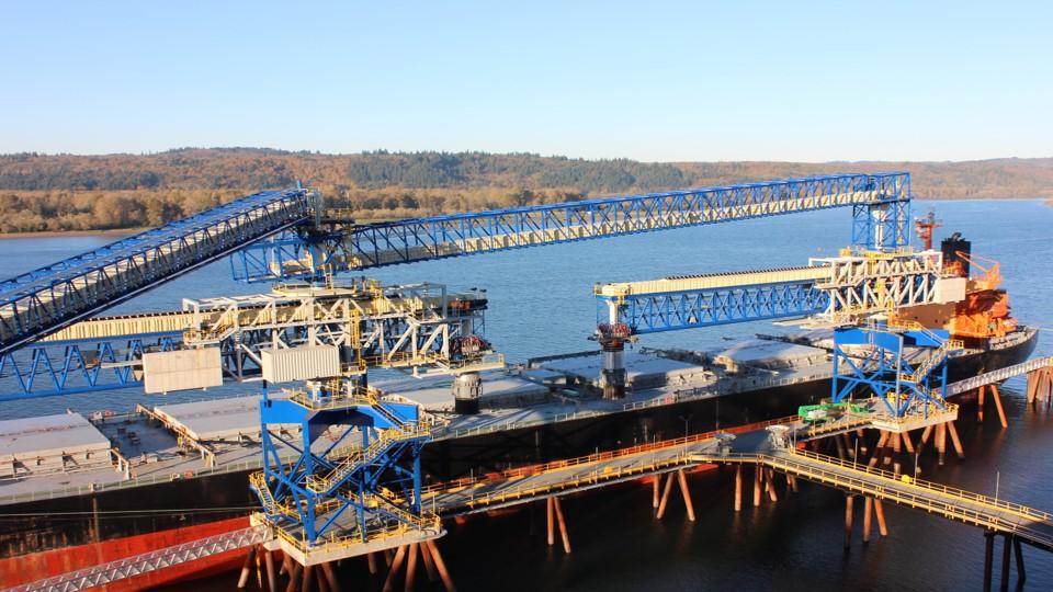 Порт ТЕМСО – КАЛАМА, США, загрузка 3,75 т в час