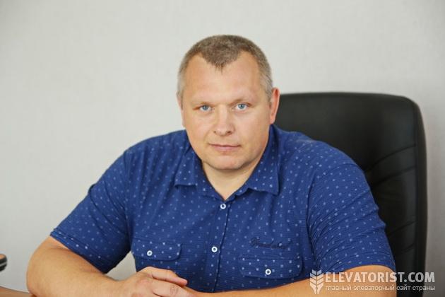 Директор элеватора Дмитрий Селезень