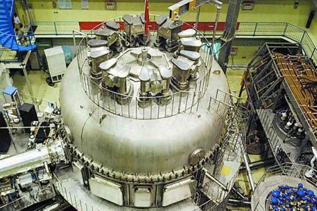 Так выглядит термоядерный реактор