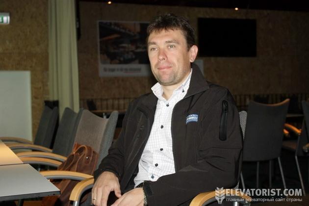 Вячеслав Коваленко, главай украинского представительства TORNUM