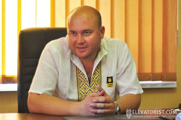 Алексей Борщенко, директор Вороновицкого хлебоприемного предприятия